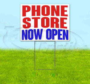 Phone Shop Now Open Yard Sign