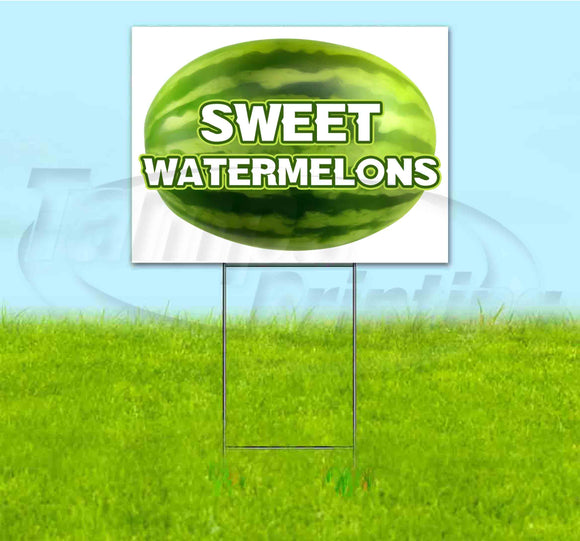 Sweet Watermelons Yard Sign