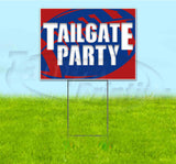 Tailgate Party Bills Yard Sign