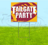 Tailgate Party Cardinals Yard Sign