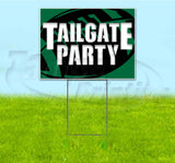 Tailgate Party Eagles Yard Sign