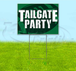 Tailgate Party Jets Yard Sign