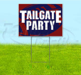 Tailgate Party Patriots Yard Sign