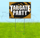 Tailgate Party Saints Yard Sign