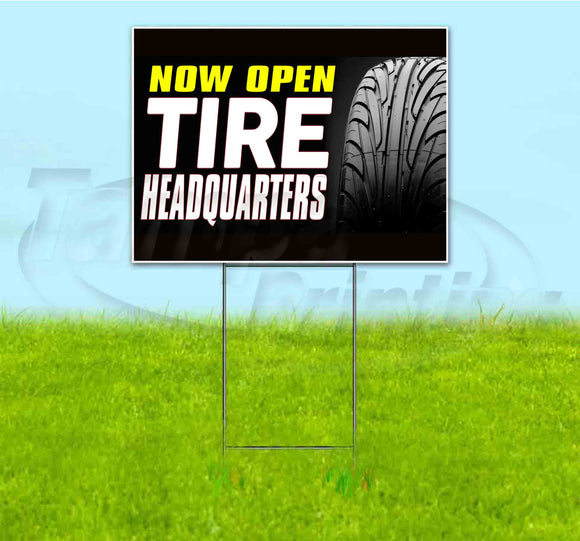 Tire Headquarters Yard Sign