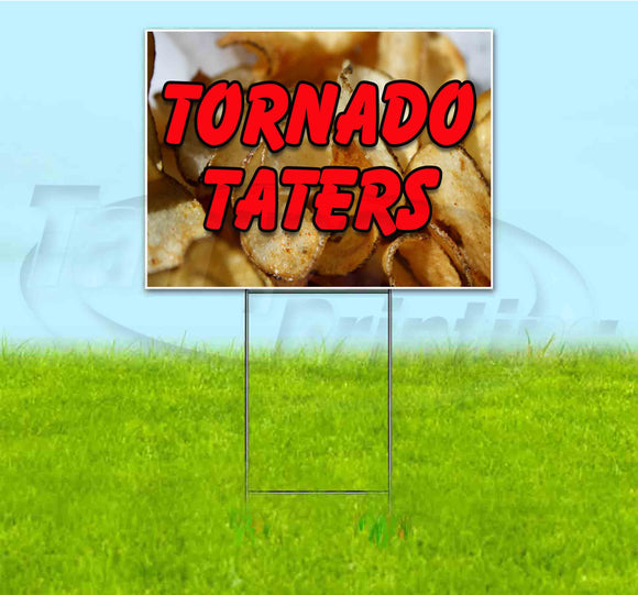 Tornado Taters Yard Sign
