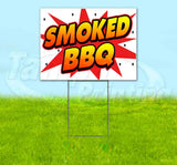 WBG Smoked BBQ Yard Sign