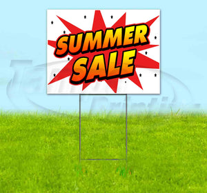 Summer Sale Yard Sign