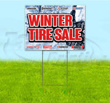 Winter Tire Sale Yard Sign