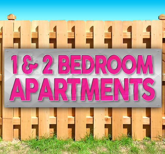 1&2 Bedroom Apartments Banner
