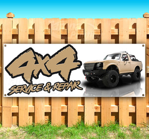 4x4 Service and Repair Banner