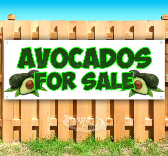 Avocados For Sale Banner