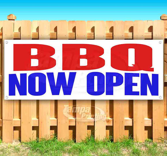 BBQ Now Open Banner