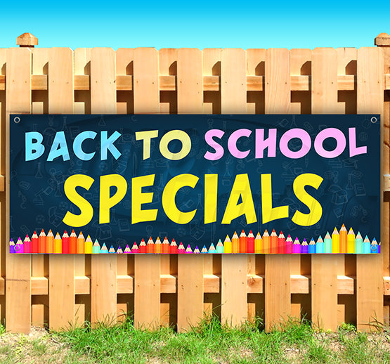 Back To School Specials Banner
