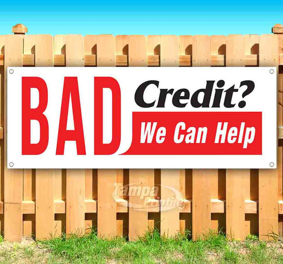 Bad Credit We Can Help Banner