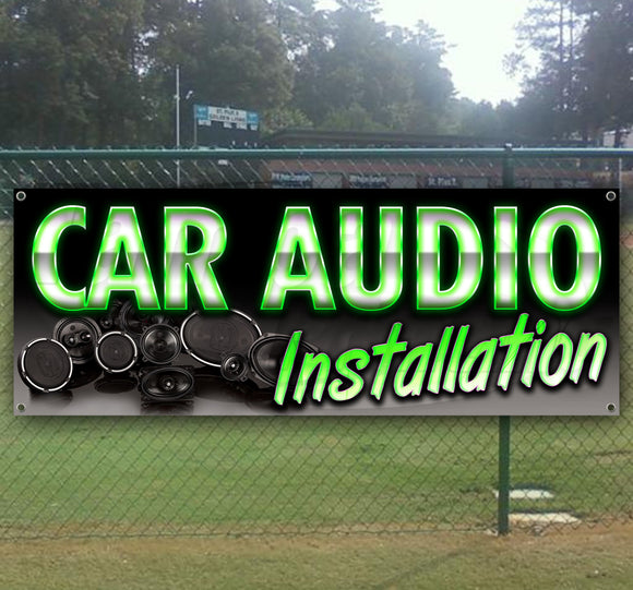 Car Audio Installation Banner