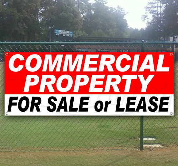 Commercial Property For Sale Or Lease Banner