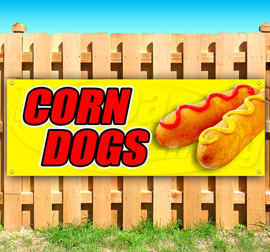 Corn Dogs Banner