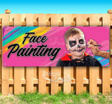 Face Painting Banner