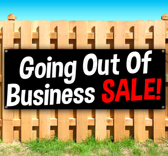 Going Out Of Business Sale Banner