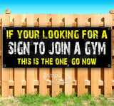 If Your Looking For A Gym Banner