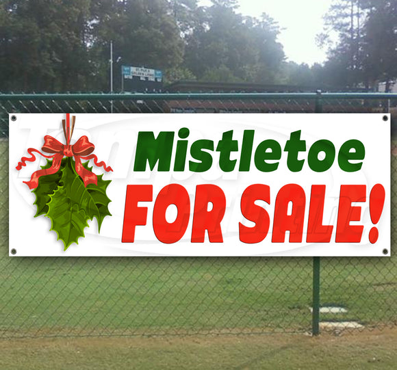 Mistletoe For Sale Banner