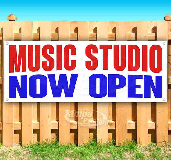 Music Studio Now Open Banner