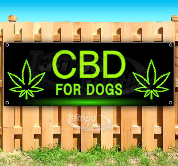 NLBlkBg CBD For Dogs Banner