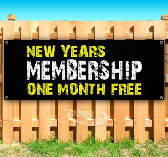 New Years Membership OMF G Banner