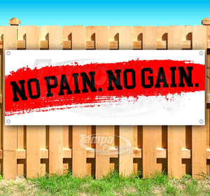 No Pain No Gain Banner