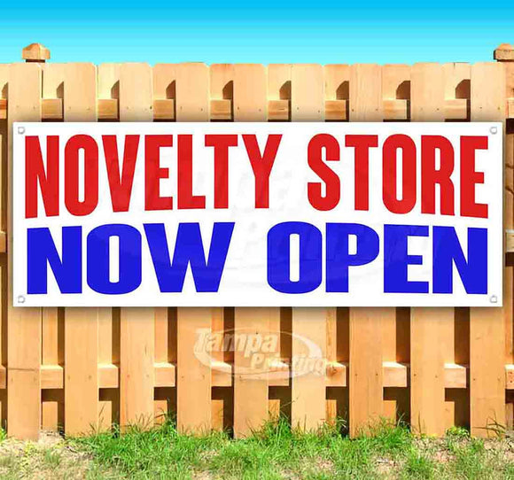 Novelty Store Now Open Banner