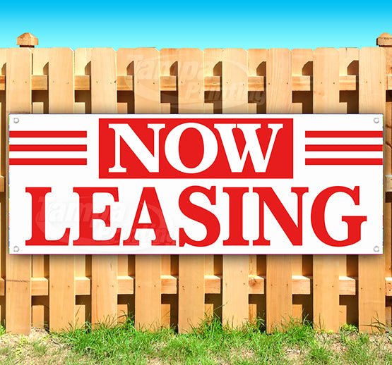 Now Leasing Banner