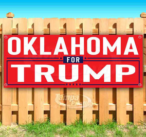 Oklahoma For Trump Banner