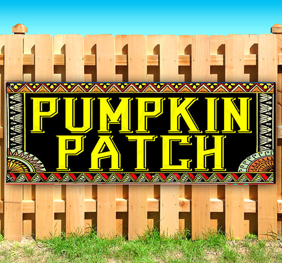 Pumpkin Patch Banner