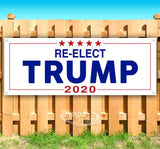 Re-Elect Trump Banner
