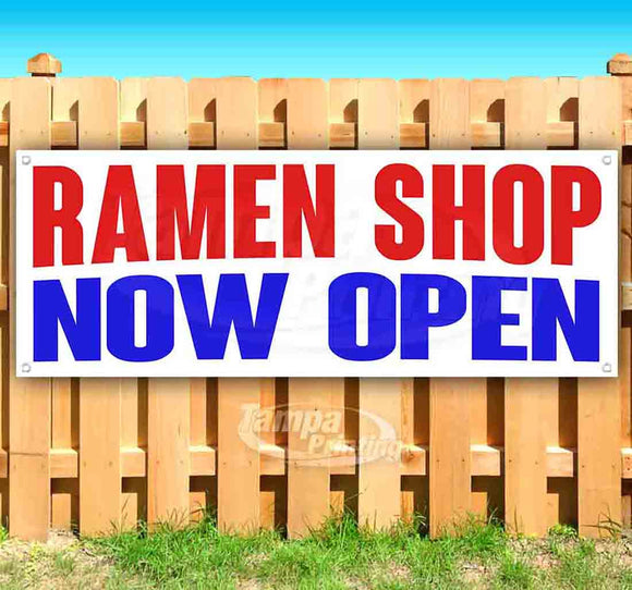 Ramen Shop Now Open Banner