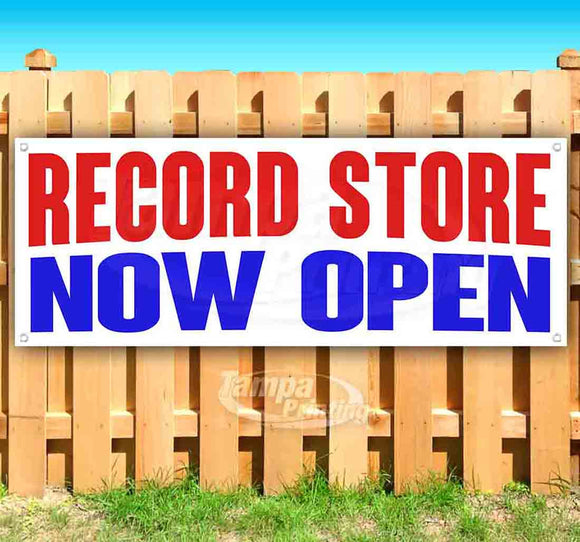 Record Store Now Open Banner