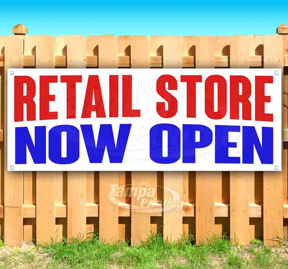 Retail Store Now Open Banner