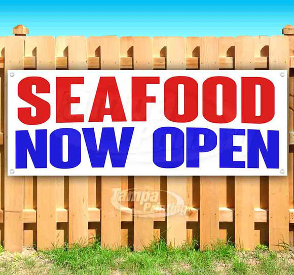 Seafood Now Open Banner