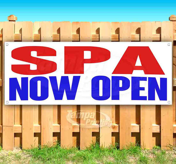 Spa Now Open Banner