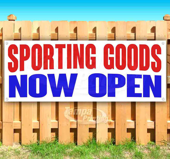 Sporting Goods Now Open Banner
