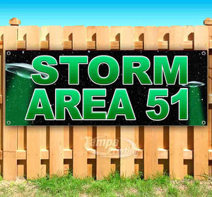 Storm Area 51 UFO Banner