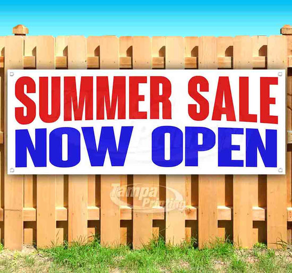 Summer Sale Now Open Banner