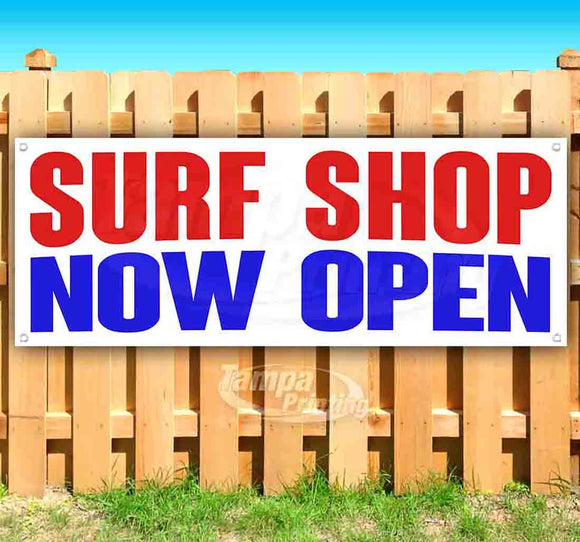 Surf Shop Now Open Banner