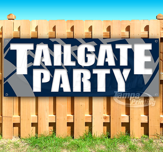 Tailgate Party Banner
