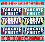Tailgate Party Bears Banner