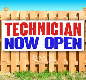 Technician Now Open Banner