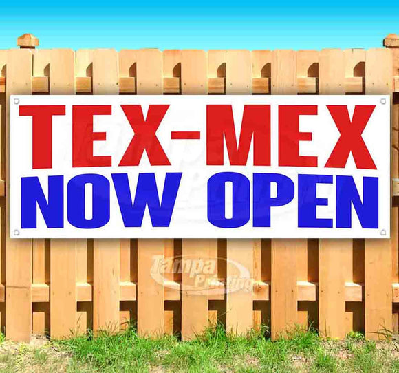 Tex-Mex Now Open Banner
