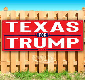 Texas For Trump Banner