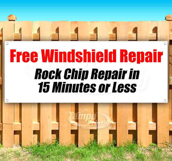 Free Windshield Repair Banner